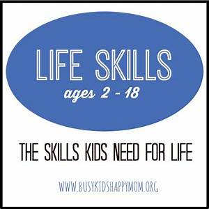 Life Skills for Children ages 2-18