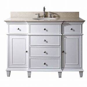 windsor 48 inch vanity only in white finish avanity With 48 inch bathroom vanity cabinet only