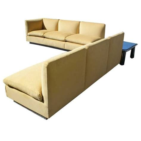 Thayer Coggin Sofa Sectional by Thayer Coggin Sectional Sofa By Milo Baughman For Sale At