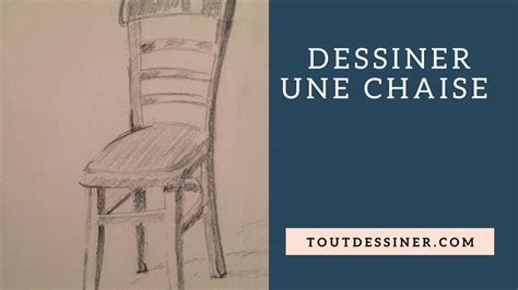 Apprendre A Dessiner Une Chaise [tutoriel De Dessin] Youtube