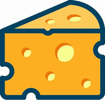 Cheese Clipart Swiss Transparent Openclipart Svg Milk