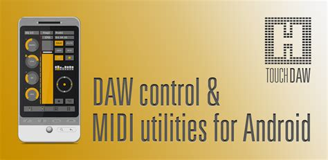 utilities for android 187 software touchdaw daw midi utilities for