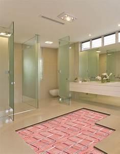 Elektrische Fußbodenheizung Teppich : eine elektrische fu bodenheizung in ihrem bad warmup ~ Jslefanu.com Haus und Dekorationen