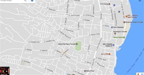 peta kota peta kota ternate