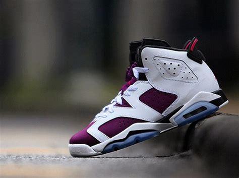 air jordan  retro gs bright grape sneakernewscom