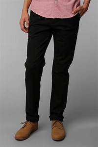 Lyst - Hawkings Mcgill Stretch Skinny Chino Pant in Black for Men