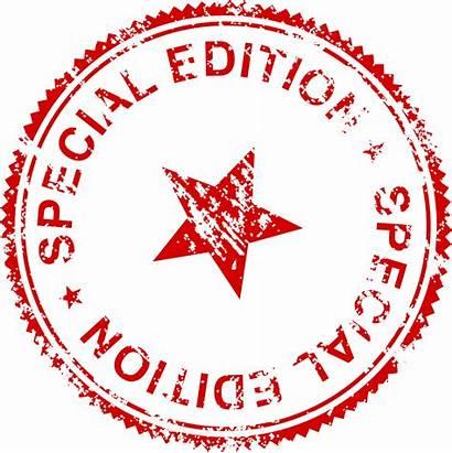 Edition Special Stamp Transparent Stamps Clip Svg