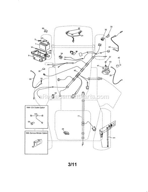 Craftsman Lt4000 Wiring Diagram by Craftsman Gt6000 Parts Diagram Downloaddescargar