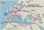 Migration of the Lost 10 Tribes of Israel.