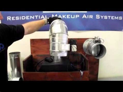 Various Install Options for Make Up Air   YouTube