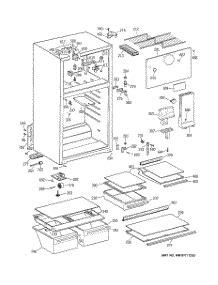parts  ge htshbmbrww refrigerator appliancepartsproscom