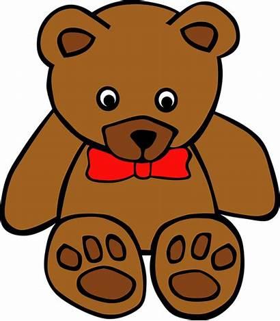 Teddy Bear Toy Soft Vector Clipart Clip