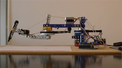 arduino controlled drawing robot