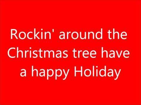hanson rockin around the christmas tree snowed in