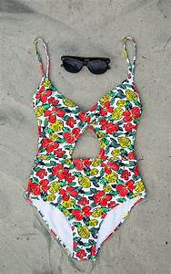 Cruise Ship Cool One-Piece Swimsuit | Suits, Cute bathing ...