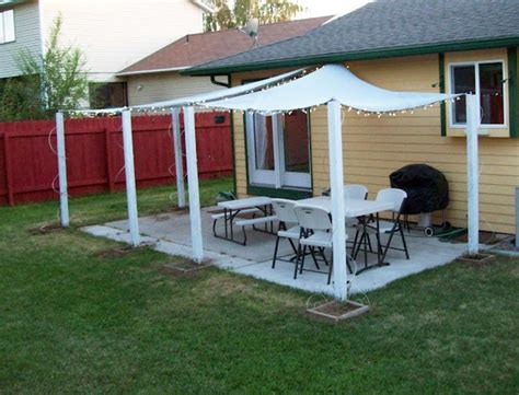 patio shade diy projects to try