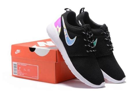 Shoes, Holographic, Nike Running Shoes, Black, Sneakers