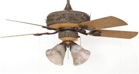 Damp Rated Ceiling Fans With Lights by Forest Breeze Outdoor Ceiling Fan Rustic Lighting And Fans