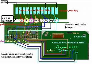 Nokia 1202 Lcd Jumpers From Front Display Problem Solution