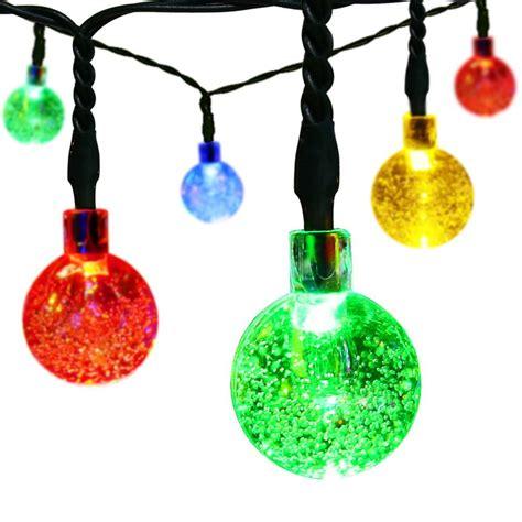 string lights christmas decorative led string lights balls w 8 modes multi color globes 21ft ebay