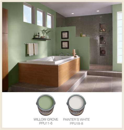 Spa Bathroom Color Schemes by Colorfully Behr Color Of The Month Jade