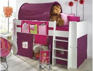 Lit En Hauteur Enfant : le lit enfant mi hauteur une promotion saisir ~ Melissatoandfro.com Idées de Décoration