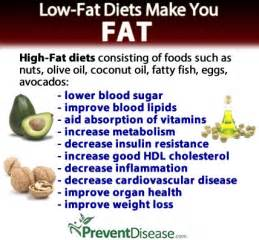 Why Low-Fat Diets Make You Fat Low Fat Diet