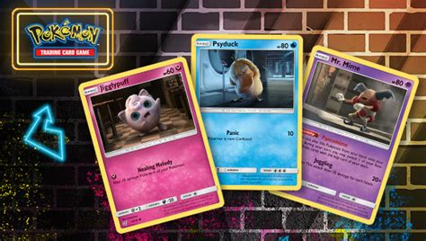 Detective Pikachu Expands Its Tcg Set With Mr. Mime