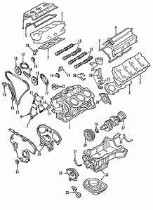 Genuine Nissan Rear Main Seal Retainer 12296
