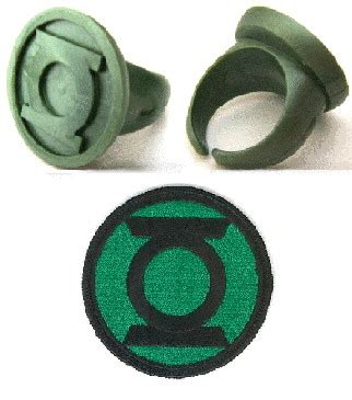 green lantern lot ecusson et bagues gaming fancorner fr