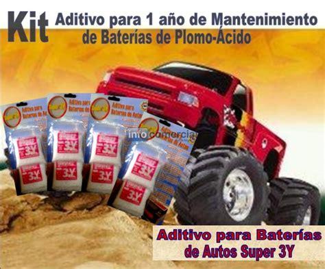 Kit Aditivo Para Baterías De Autos Mantenimiento Efectivo