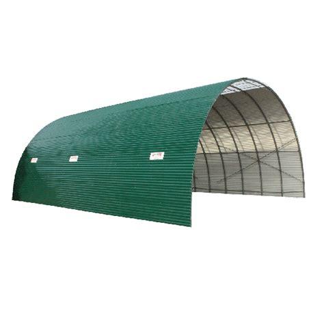 remorque chambre froide tunnel de stockage couverture en tôle ondulée anti