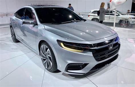 Honda 2019 : 2019 Honda Insight Shows Off Its Stylish Duds In Detroit