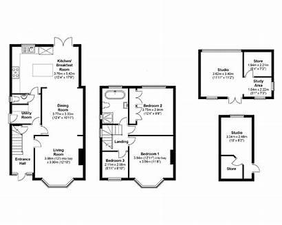 Floor Plan Extension Plans Kitchen 1930s Detached