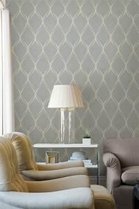 Vintage Tapete Grau : 42 wundersch ne design ideen mit vintage tapeten ~ Sanjose-hotels-ca.com Haus und Dekorationen