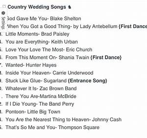 top 15 country wedding songs wedding pinterest With country wedding ceremony songs