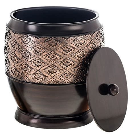 compare price small wastebasket  lid