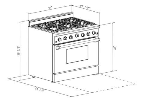 36 oven range 36 quot pro style freestanding slide in gas range kitchen