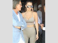 Bella Hadid suffers from unfortunate camel toe in barely