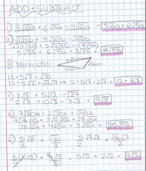 multiplying and dividing radicals with variables