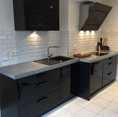 Küche Beton Arbeitsplatte arbeitsplatten aus beton diy anleitung mit betonrezept