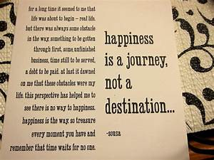Happiness Quote... Architecture Journey Quotes