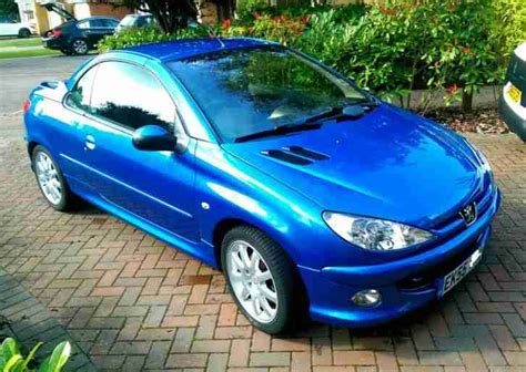 peugeot sports cars for sale peugeot 206 cc sport semi auto convertible car for sale