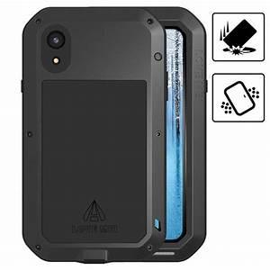 mei powerful iphone xr hybrid hülle schwarz