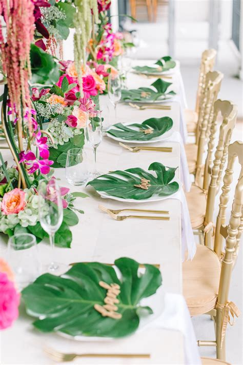 top trends   tropical wedding todays bride