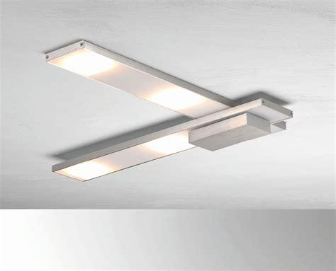 Led Leuchten by Bopp Leuchten Led Deckenleuchte 4flg Silberfarben