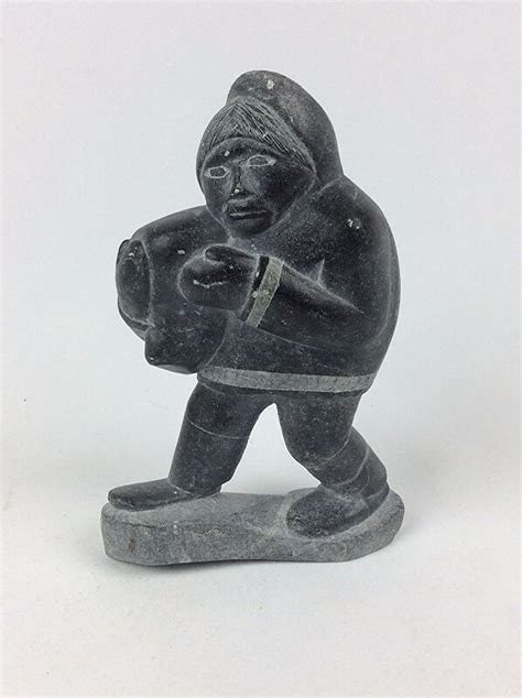 Where To Purchase Soapstone by Vintage Inuit Soapstone Carving Signed Isah Ebay