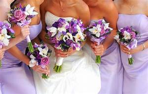 Orange And Purple Wedding Flowers | Wedding Flowers