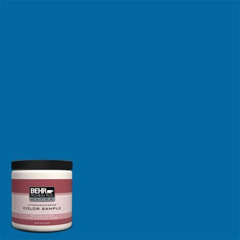 behr paint colors reviews behr premium plus ultra 8 oz s g 560 jazz blue matte interior exterior paint and primer in one