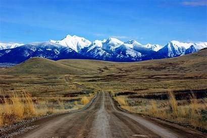 Mountains Mission Montana Range Bison Wikipedia National